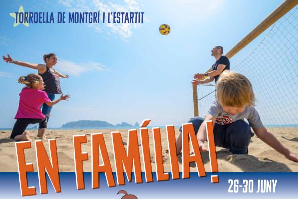 ¡En Familia! Alquiler de apartamentos en el Estartit y un completo programa de actividades para toda la familia – Junio 2019